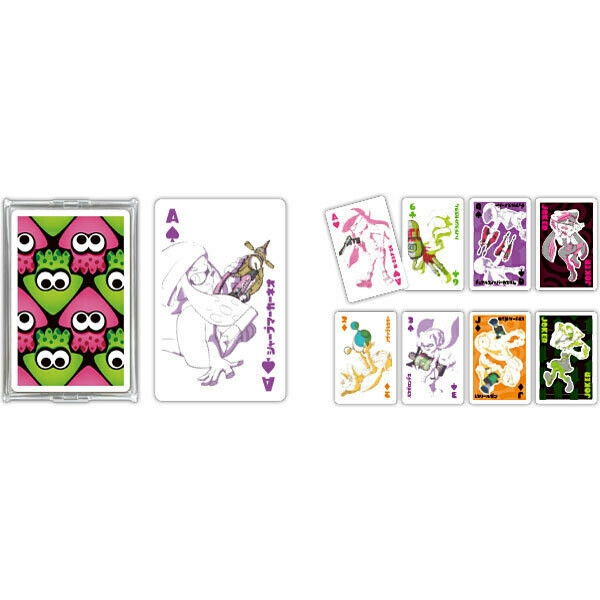 Splatoon 2 Trump 03 Buki Playing Cards