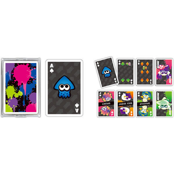 Splatoon 2 Trump 01 Standard Playing Cards