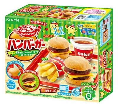 Kracie Popin' Cookin' Hamburger Kit