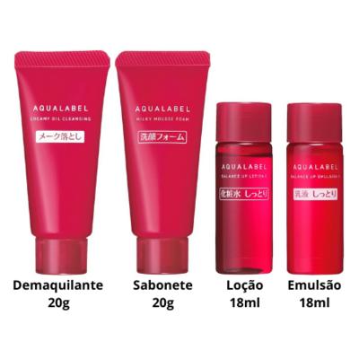 Shiseido AQUALABEL Moisture Skincare Set