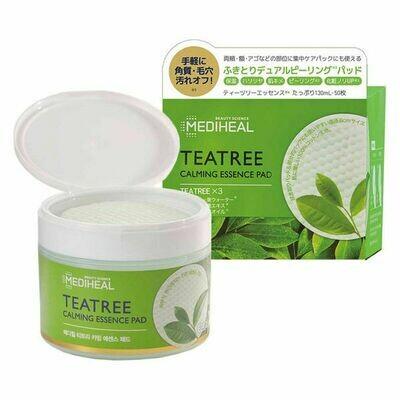 MEDIHEAL TeaTree Calming Essence Pad (Peeling Pad)