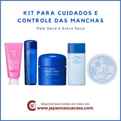 Kit para Cuidados e Controle das Manchas - Pele Seca e Extra Seca