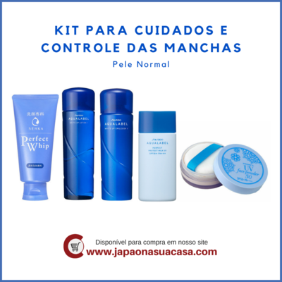 Kit para Cuidados e Controle das Manchas - Pele Normal