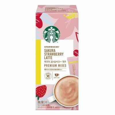 Starbucks Sakura Strawberry Latte Premium Mixes