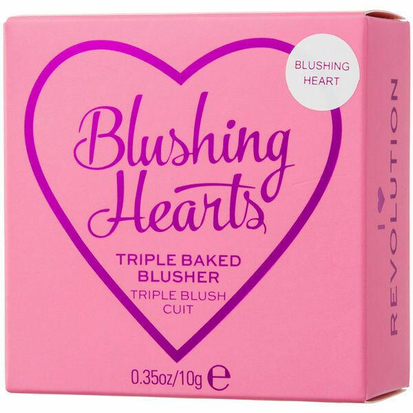 Blush MAKEUP REVOLUTION Blushing Hearts - Blushing Heart Blusher