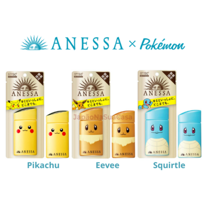 Shiseido ANESSA Perfect UV SkinCare Milk a Pokemon Limited Package