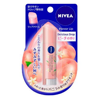 NIVEA Flavor Lip Delicious Drop Peach & Vanilla Flavor