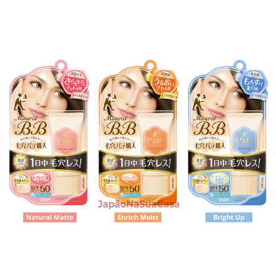 SANA Keana Pate Shokunin Pore Putty Mineral BB SPF50+ PA++++
