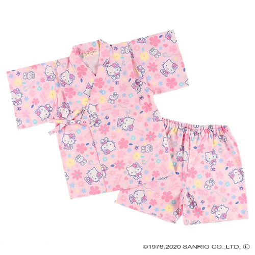 Yukata Infantil Menina Hello Kitty