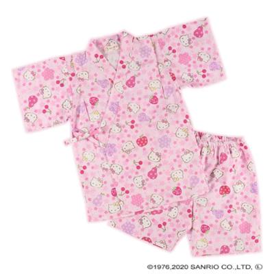 Yukata Infantil Menina Hello Kitty Cherry