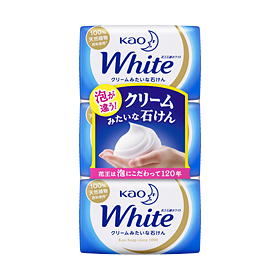 Kao White Soap Elegant Floral 130g X 3