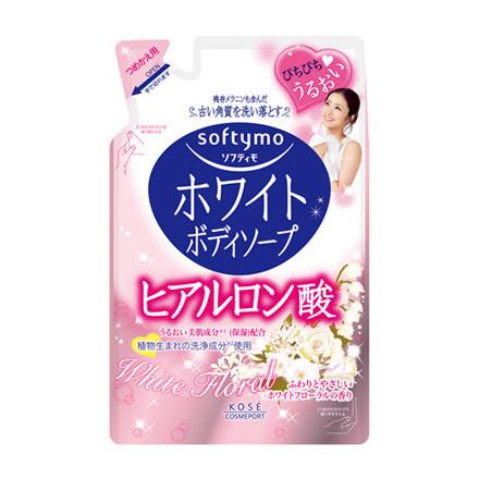 Kosé Softymo White Body Soap Hyaluronic Acid Refil