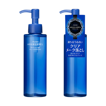 Shiseido AQUALABEL Deep Oil Cleansing