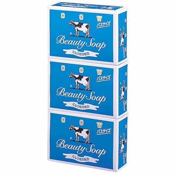 Cow brand Blue Box Beauty Soap Refreshing (135g X 3)