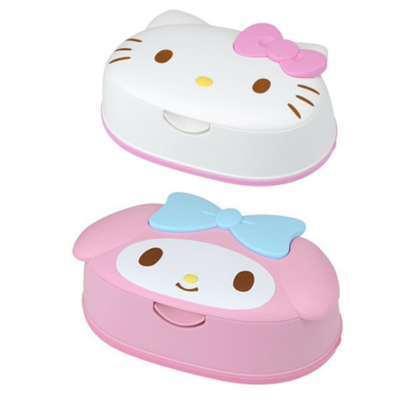 SANRIO Hello Kitty / My Melody Wet Wipes Box