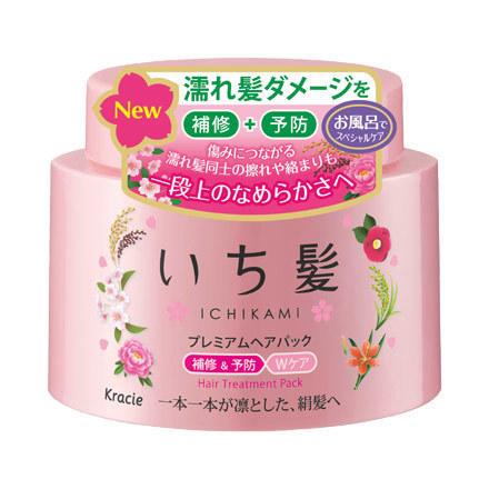 Kracie - Ichikami Premium Hair treatment Pack