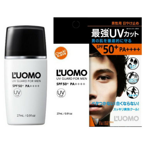 L'UOMO UV GUARD FOR MEN SPF50+ PA++++