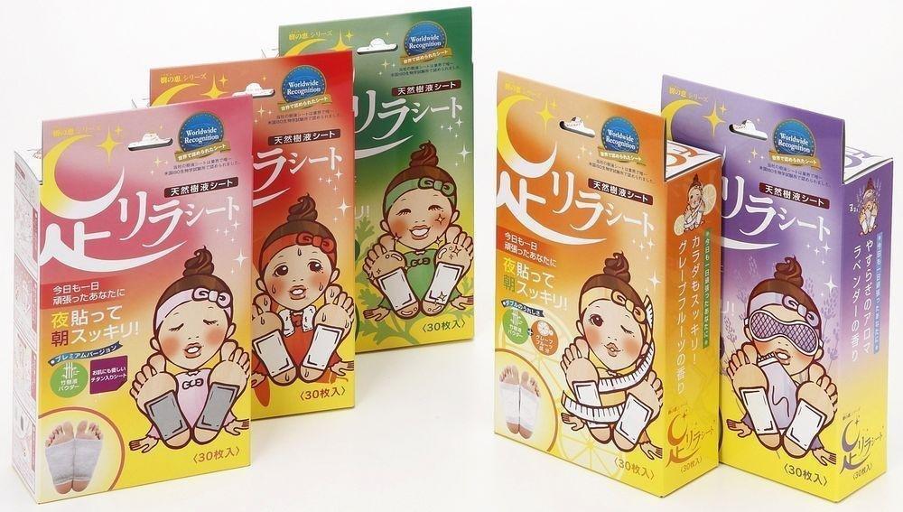 Kinomegumi Ashirira - Detox Foot Patches (Box)
