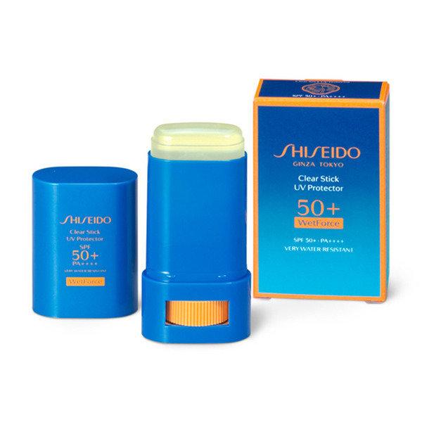 Shiseido Clear Stick UV Protector SPF50+ PA++++ WetForce