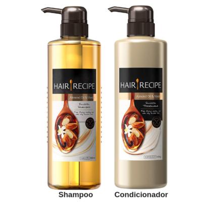 HAIR RECIPE Almond Oil & Vanilla Smooth