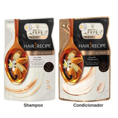 HAIR RECIPE Almond Oil & Vanilla Smooth Refil
