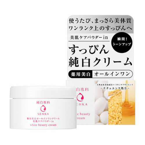 Shiseido Junpaku Senka White Beauty Cream