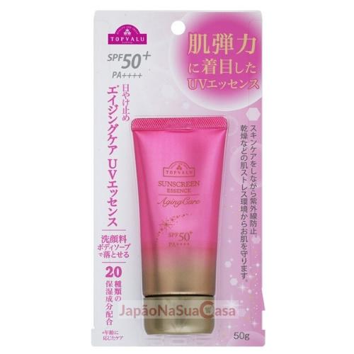 TOPVALU Sunscreen Essence Aging Care SPF50+ PA++++