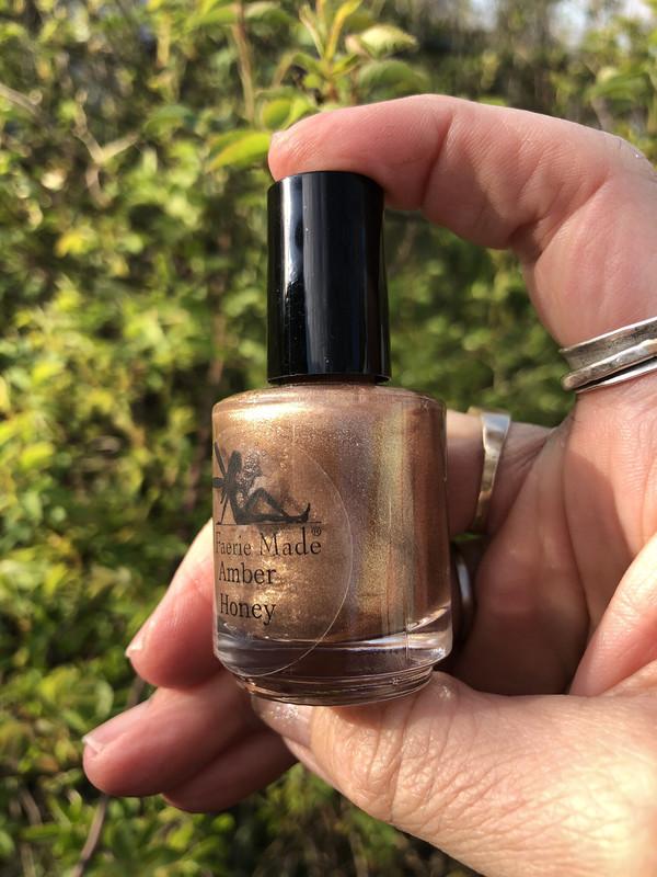 Amber Honey Nail Polish