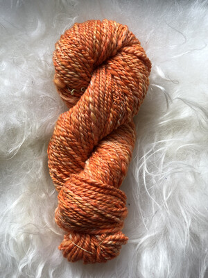 Handspun Oranges & Cream Merino/Silk Yarn