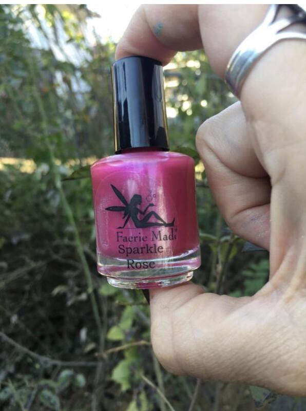 Sparkle Rose Nail Polish