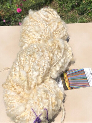 Handspun Blue Faced Leicester/Cotswold Art Yarn