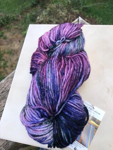 Hand Dyed DK Weight Mill Spun Yarn