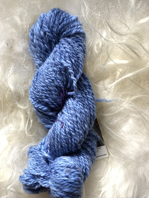Handspun Lighter Blues Merino Yarn