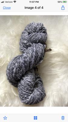 Handspun Greys Merino Yarn