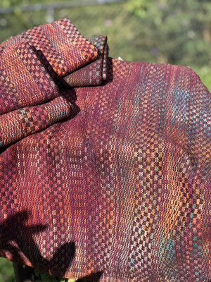 Handwoven Hand Dyed Kitchen Towels