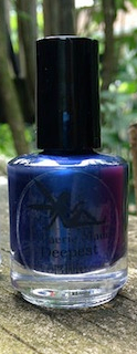 Deepest Blue Nail Polish