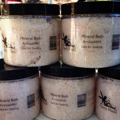 Arnicaaaahhh: Mineral Salts For Soaking 2 for $25