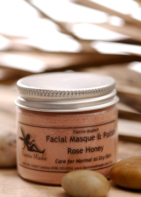 Rose Honey Facial Masque & Polish