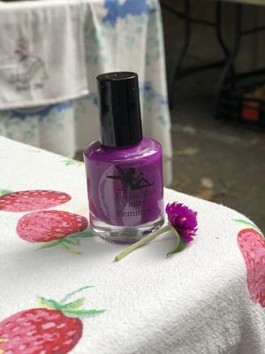 Violet Femmes Nail Polish