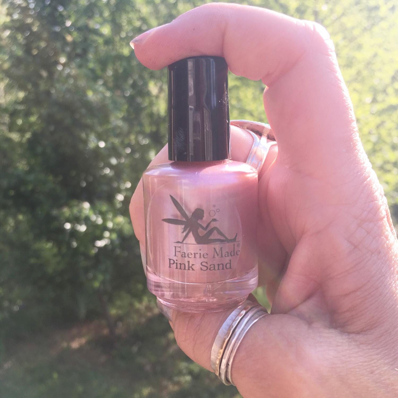 Pink Sand Nail Polish