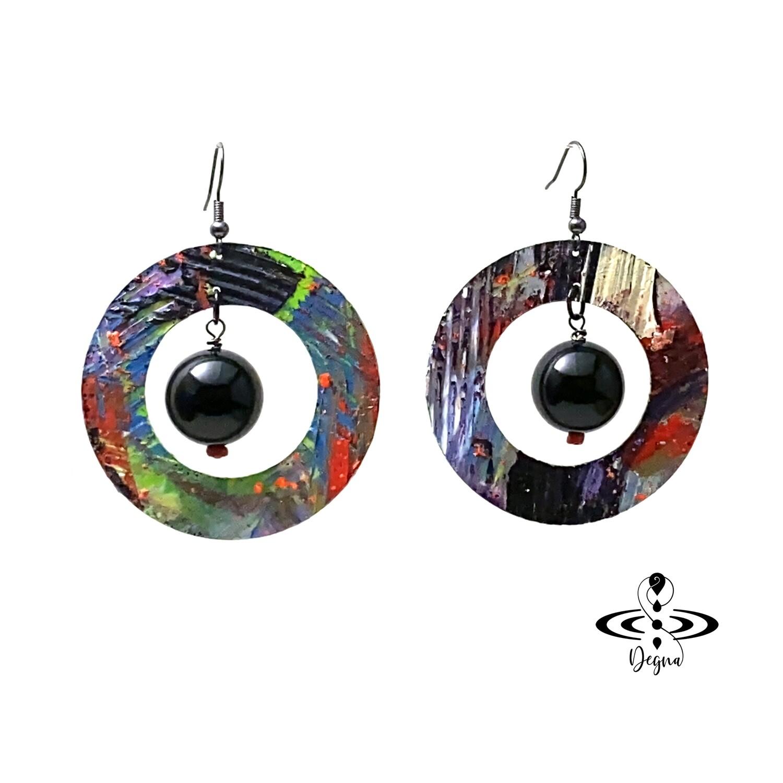 Rings of Saturn Earrings