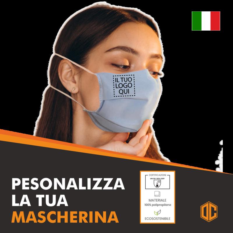 Mascherina Lavabile Personalizzata OC003