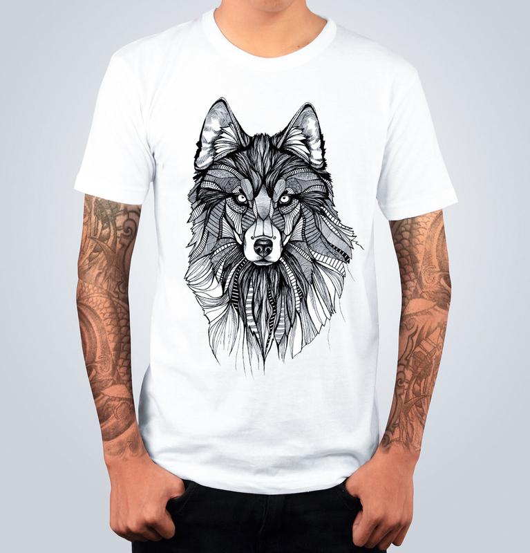 T-shirt WOLF Bianca