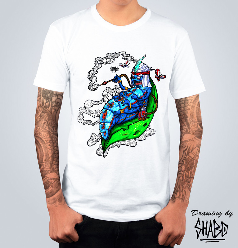 T-shirt Brucalifa Bianca