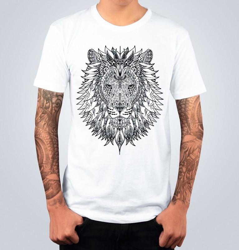 T-shirt LION Bianca