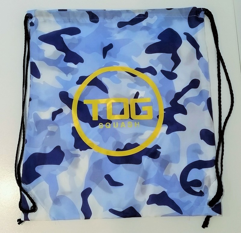 TOG Blue Camo Drawstring Bag