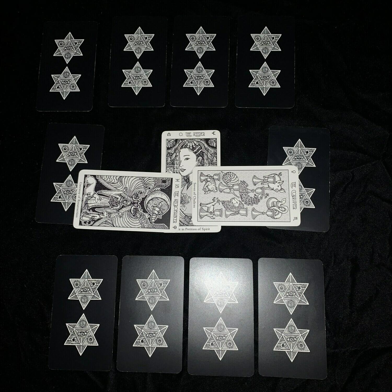 Tarot-Traditional 12 Card reading