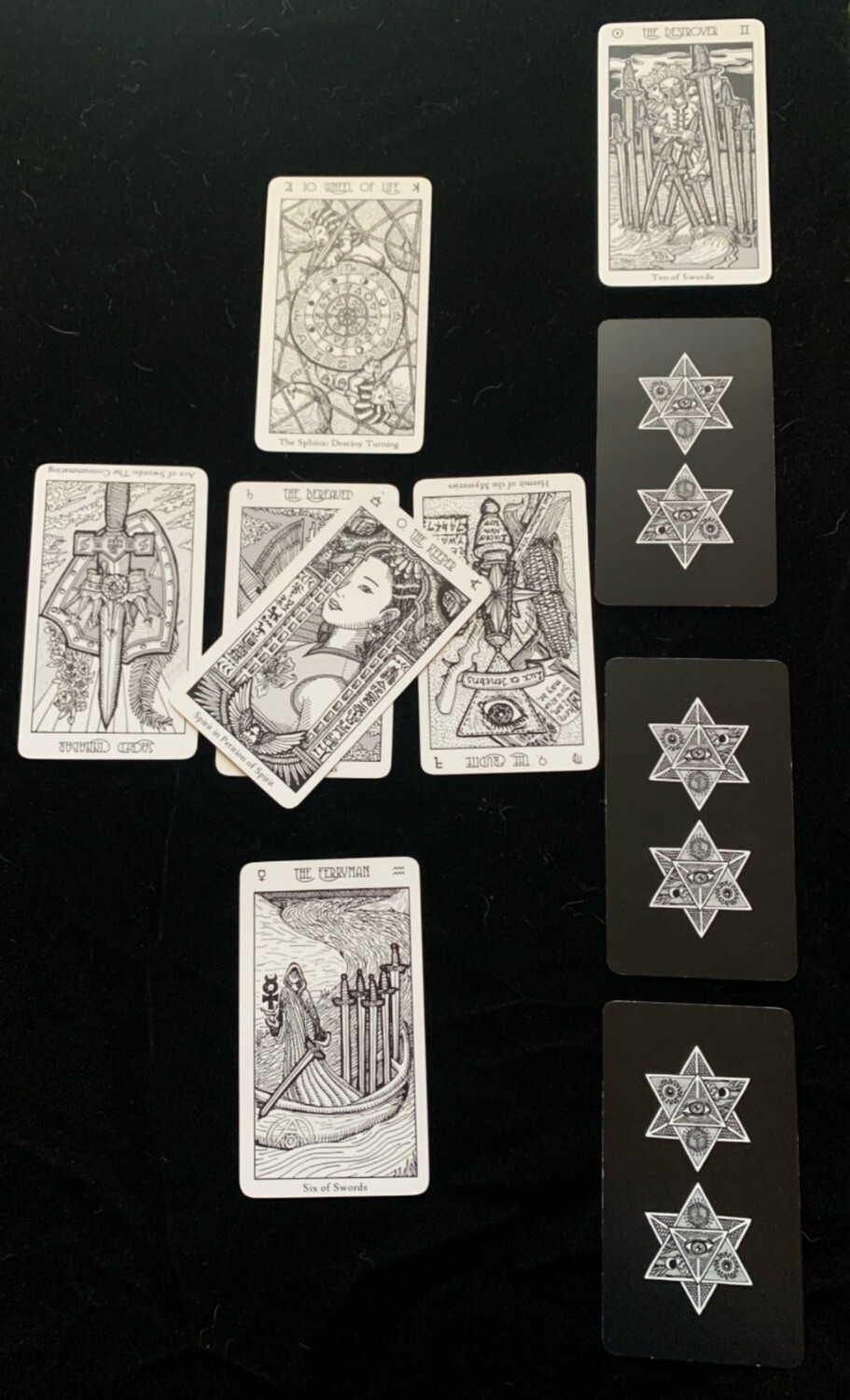 Celtic Spread Tarot Reading