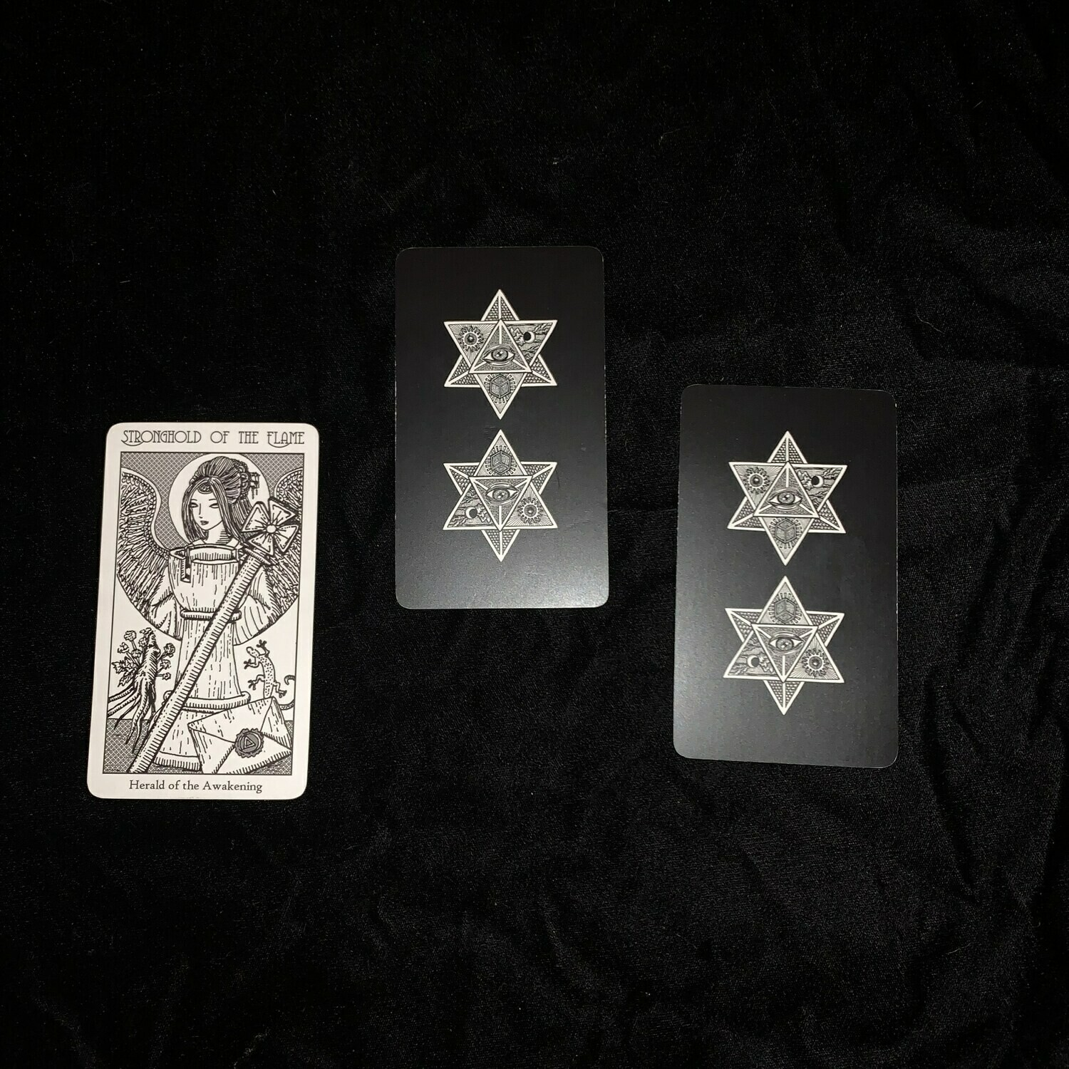 Simple Three card Reading