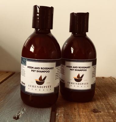 Neem & Rosemary Pet Shampoo